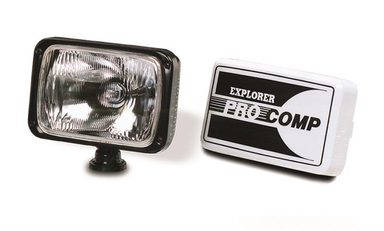 PRO-COMP プロコンプ ブラック プラスティック ドライビング 6インチX9インチ ライト