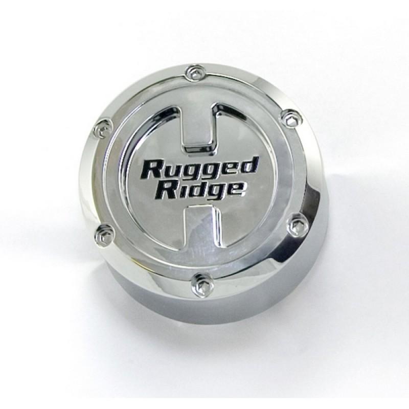 RUGGED RIDGE ラギッドリッチ センターキャップ プラスチック シルバー 127H